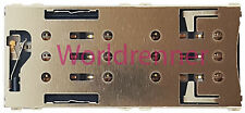 Dual SIM Lector Tarjeta Conector Card Reader Connector Sony Xperia XA Dual