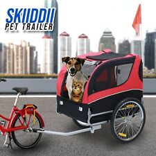 New Skiiddii Foldable Dog / Pet Bicycle Trailer Bike Trailer Dog Trailer