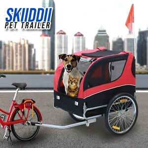 Dog Trailer Pet Skiiddii's Foldable Pet Bicycle Trailer Bike Trailer
