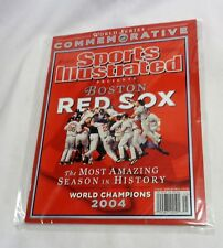 2004 Sports Illustrated SI Magazine Book Red Sox World Series Champions Cover