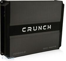 Crunch PD 1500.2 1500W 2-Channel Power Drive Full Range Class AB Car Amplifier