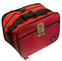 Top Box Inner Liner Luggage Bag for Triumph Tiger 800 Motorbike (Red)