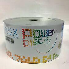 100 52X Power Disc Logo Blank CD-R CDR Recordable Disc 80Min/700MB