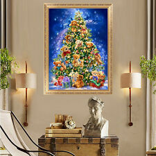 DIY 5D Diamond Painting Christmas Embroidery Tree Cross Stitch Home Decor Scraft