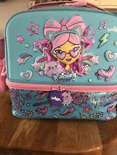 Smiggle Blue Large Lunchbox / Lunch Bag Hardly Used