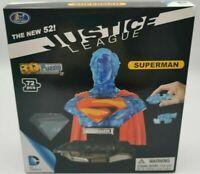 3D Puzzle-Justice League SUPERMAN new 52 RARE CLEAR BLUE VARIANT