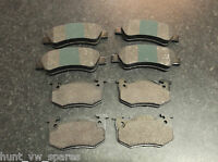 QUALITY JURATEK PEUGEOT 206 1.6 1.4HDI 2.0 FRONT & REAR BRAKE PADS CHECK SPEC