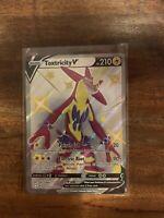 Pokemon Shining Fates Toxtricity V Shiny Full Art Holo Rare SV112/SV122