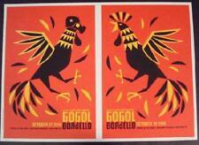 GOGOL BORDELLO BOULDER 2010 CONCERT POSTER STILES UNCUT