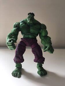 Marvel Legends Icons 12in Green Hulk Toybiz Series 2 2006 Used Loose Look NR