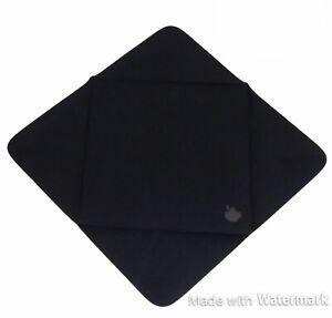 2 Apple Smartphone black microfiber cloth