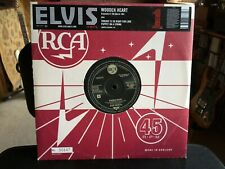 "Elvis Presley ‎– Wooden Heart  Vinyl 10""single.Numbered  NEW"
