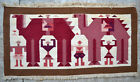 Tapestry rug carpet antique oriental tribal Berber Moroccan Tunisian 1960