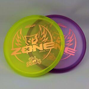 DISCRAFT GET FREAKY CRYZTAL FLX ZONE | *choose color* | 173-174g | Disc Golf