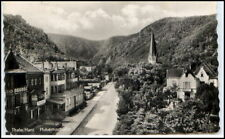 THALE 1958 DDR Hubertusstrasse AK ab Bad Suderode gel. Postkarte