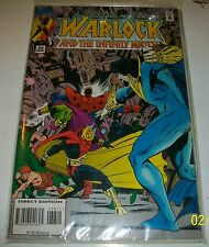 Marvel Comic WARLOCK And The Infinity Watch # 38