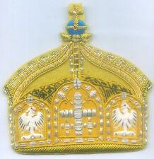German Prussia Kaiser Royal Kingdom Empire Hre Hrh King Crown Heraldry Patch Eu