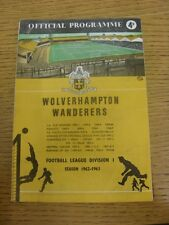 09/05/1963 Wolverhampton Wanderers v Blackpool  (Creased, Number Noted On Cover