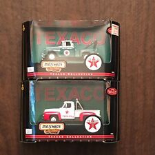 Matchbox Collectibles Texaco 1953 Ford F-100 and 1955 Chevy 3100 Tow Truck Lot