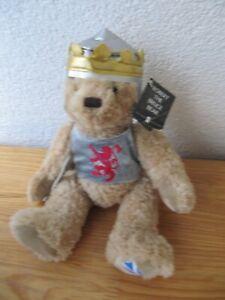Historic Scotland Schottland Robert the Bruce Teddy Bear Bär SH 25 cm Stofftier