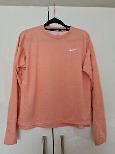 Nike Dri Fit Top / Nike Running.  Womens Rust Pink Colour.  Brand New :)