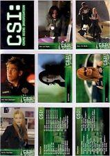 CSI Crime Scene Investigation: Series 3 - 72 Card Basic/Base Set