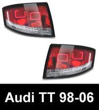 AUDI TT (8N: 98-06) RHD UK COUPE & ROADSTER RED/CLEAR LED REAR TAIL LIGHTS RHD