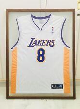 Camiseta enmarcada Kobe Bryant histórica N.8 | Framed T-shirt NBA LA Lakers
