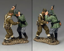 KING And Country WW2 BRITISH COMMANDO DUELING PISTOLE D giorno dd258