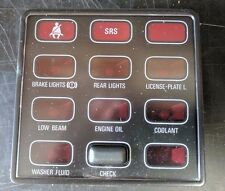 BMW E23 Check Control Panel - 62-14-1-376-775