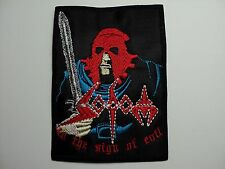 SODOM IN THE SIGN OF EVIL EMBROIDERED PATCH
