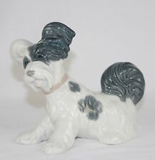 "Lladro ""Skye Terrier"" #4643 Figurine ~ Playful Dog/Puppy ~ Perfect!"