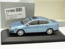 Minichamps 1/43 - VW Passat B6 Blue Metal