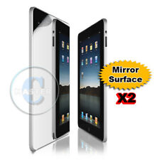 2 x MIRROR SCREEN PROTECTOR GUARD APPLE WIFI / 3G iPAD