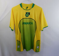Jamaica Football Federation Mens FIFA Soccer Home Jersey Shirt Size LARGE L