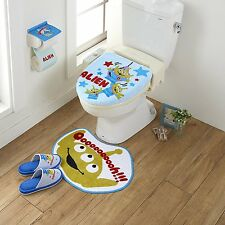 Disney Toy Story Alien Toilet Seat Paper Cover Set with Matt Slipper Kawaii