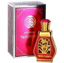 Twin Flower 15ml by Al Haramain Rose Jasmine Perfume Oil with White Musk Amber