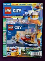 Lego City Fire Rescue Water Scooter + Magazine Rare Discontinued NEW and Sealed
