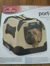 Port- a- create for pets