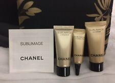 VIP Sublimage 4 Pc GWP Eye Cream-L'Essence-La CREME Travel Size +Mini Makeup Bag