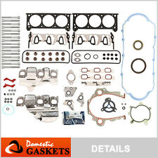 Fit 06-11 Buick Chevrolet Pontiac Saturn 3.5L 3.9L OHV Full Gasket Head Bolt Set