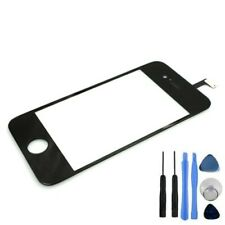 For iPhone 4 4G Black Front Touch Screen Glass Digitizer Replacement  + Tools