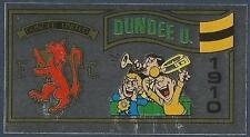 PANINI FOOTBALL 83-#418-DUNDEE UNITED TEAM BADGE-SILVER FOIL
