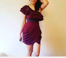 Double Zero Women's One Shoulder Multi-Color Mini Dress Size Small