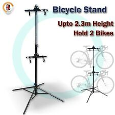Foldable Bike Display Floor Storage Bicycle Indoor Cycling Hanger Rack Stand
