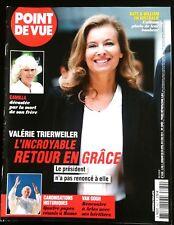 Magazine Point de Vue 30/04/2014; Valérie Trierweiler/ Les héritiers de Van Gogh
