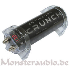 CRUNCH Powercap Kondensator 1 Farad 1F Cap CR-1000CAP PKW Auto Elko neu