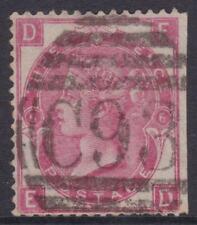 1860 /1870's Great Britain GB UK QV Queen Victoria 3d Rose Plate 6     REF:3R10