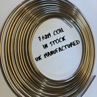 "Saville 3//16/"" x 25ft 7.62 mtrs Cupro Nickel Brake Pipe 90/% Copper 10/% Nickel"