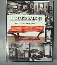 Duncan The Paris Salons, 1895-1914: Vol. 3 Furniture 1996 Galle Majorelle Mucha